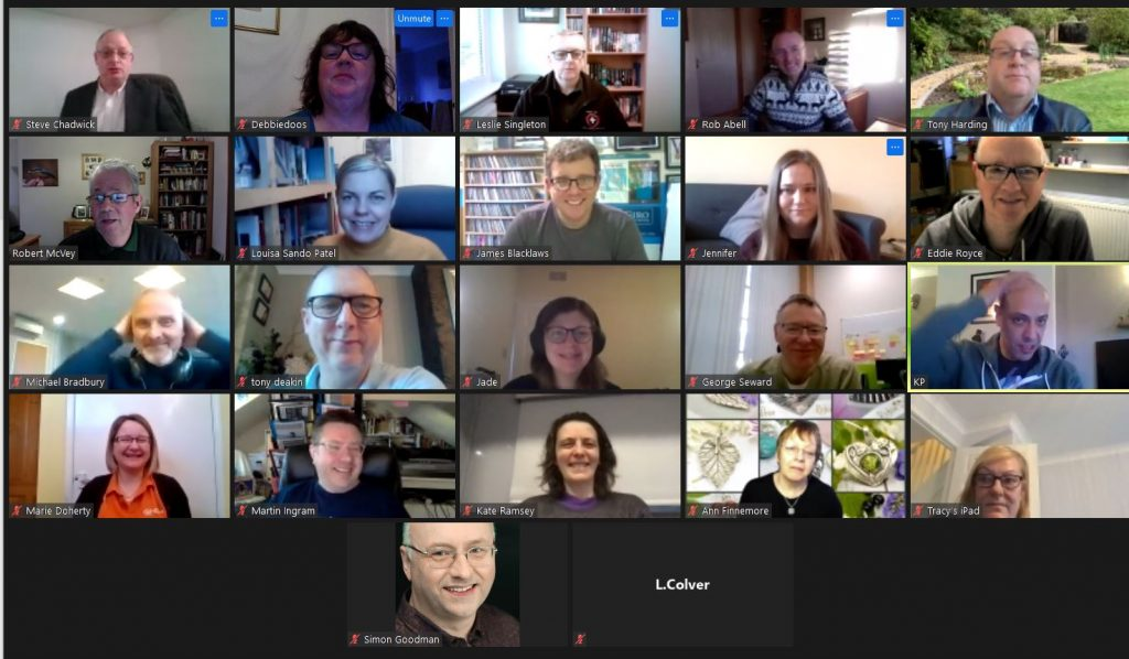 Another Great BNSL Breakfst Meeting on Zoom!