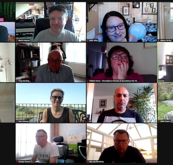Zoom Networking Meeting 22 July 2021